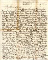 George Mason to John Augustine Washington III 1