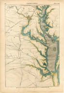 """Map of Part of Virginia and Maryland Showing the Probable Theatre of War"""