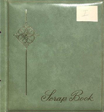 President Thompson scrapbook I