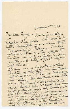 Victoria Wailes to George H. Wailes
