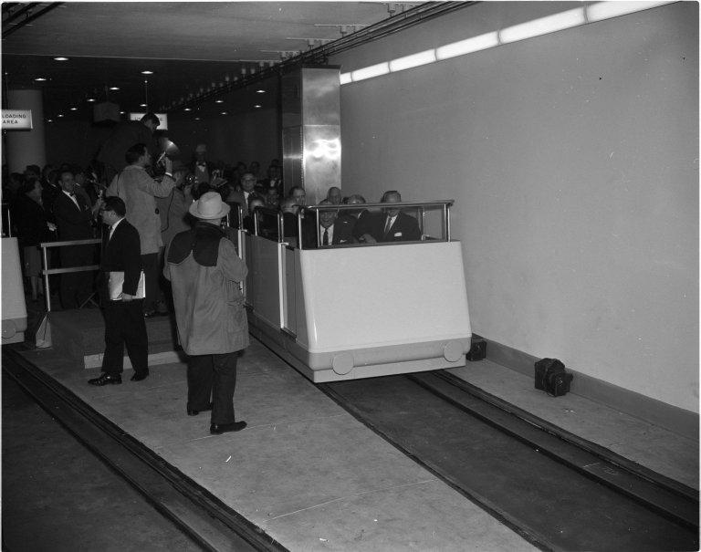 New subway to New Senate Office Building dedication ceremonies