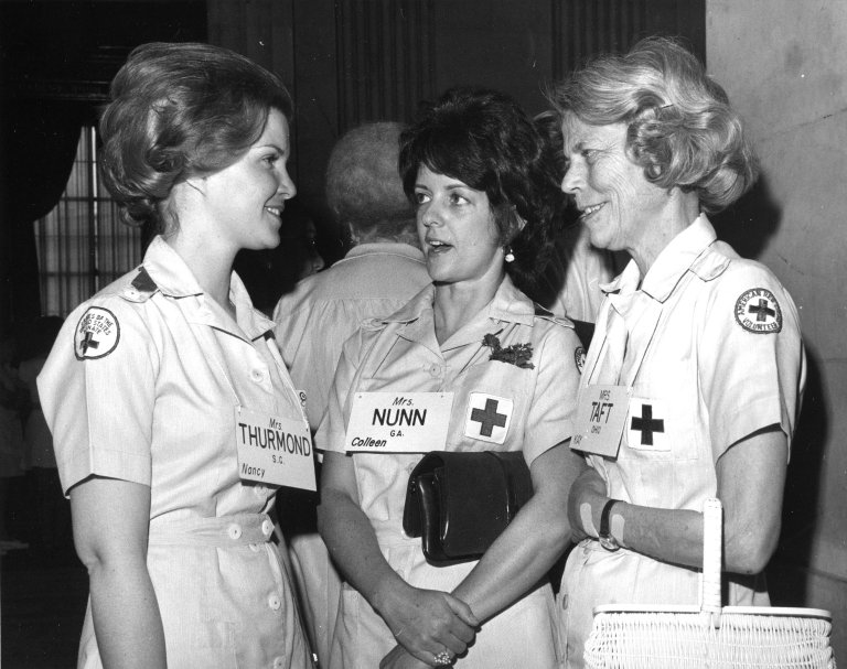 Luncheon thrown by Ladies of the Senate in honor of Betty Ford