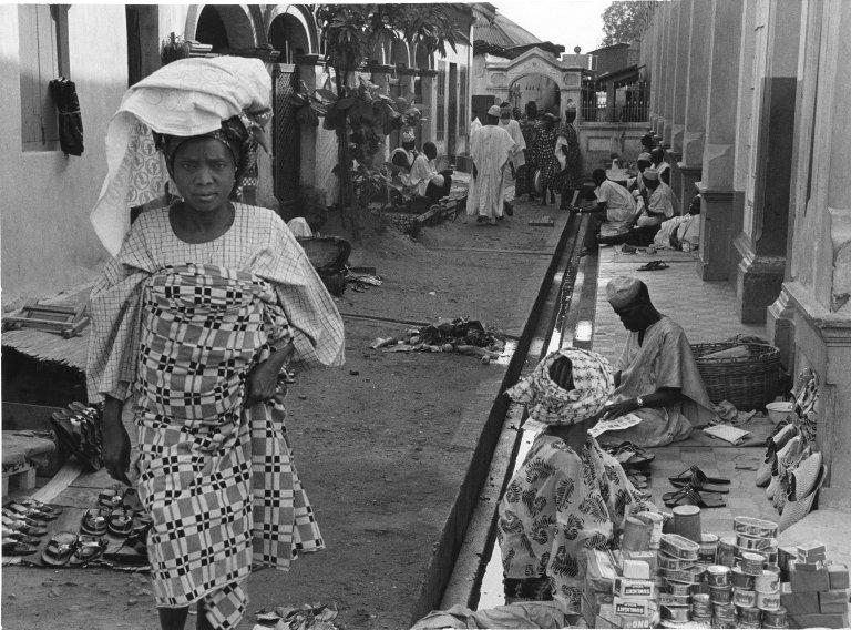 A small alleyway in Lagos, Nigeria