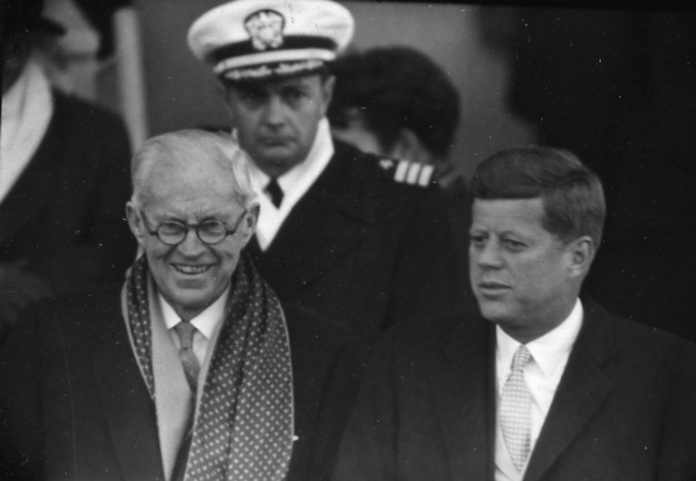 Kennedy and his father