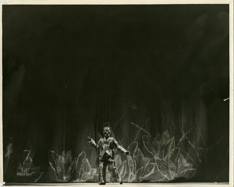 Bill Robinson puppet from Marionette Varieties in San Francisco