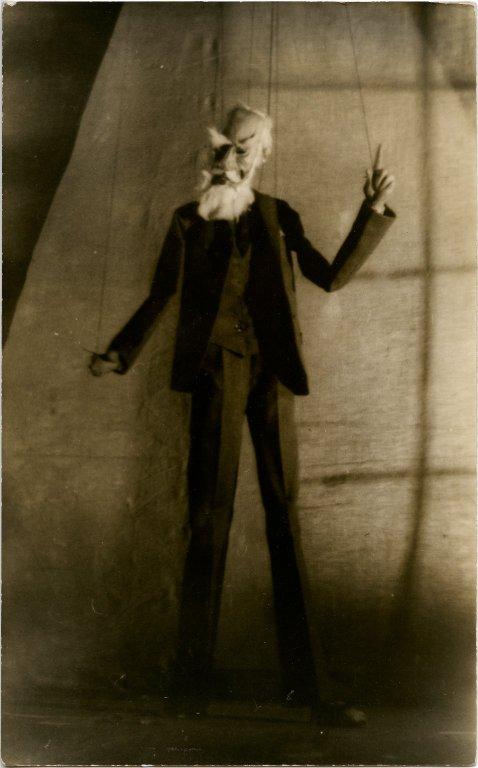 George Bernard Shaw puppet