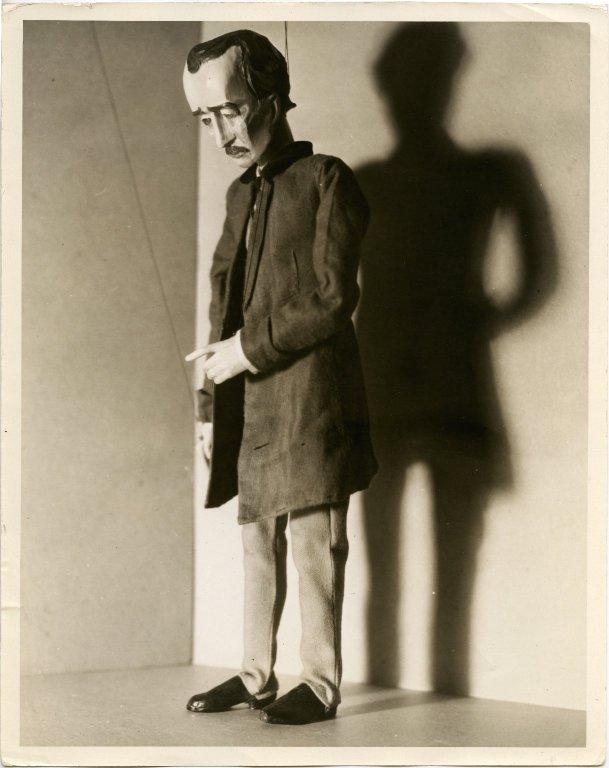 Edgar Allan Poe puppet