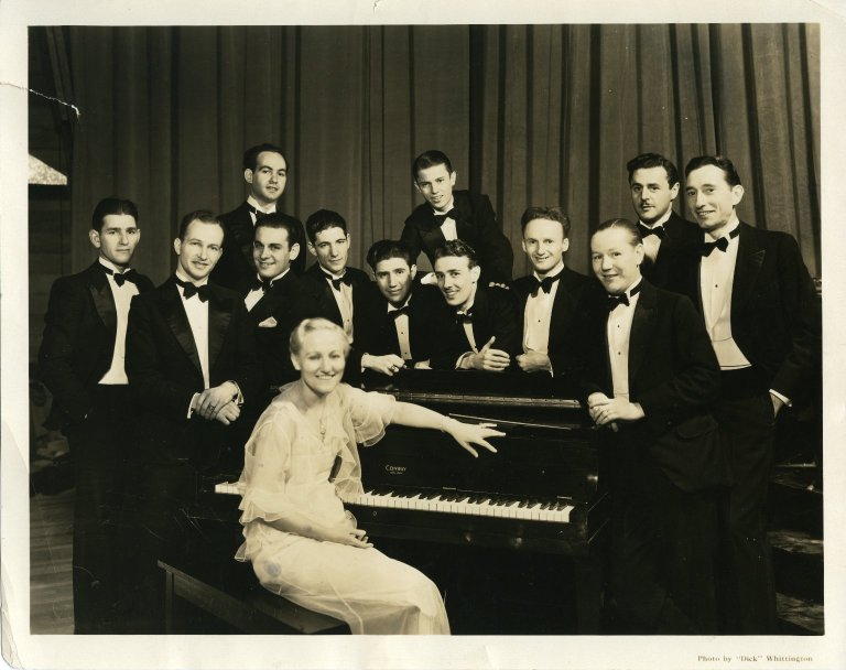 Eda Edson with orchestra