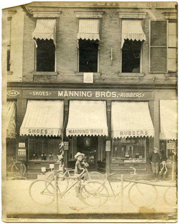 Manning Bros. storefront