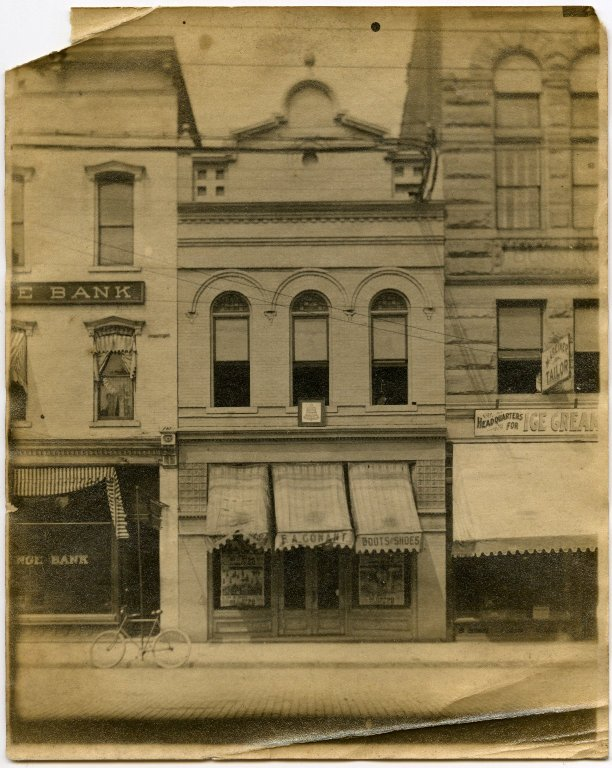 F.A. Gonant storefront
