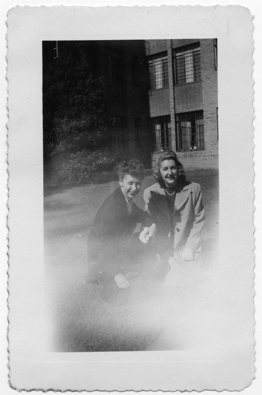 Mary Elsie Fox and Ann Sevcik O'Connel