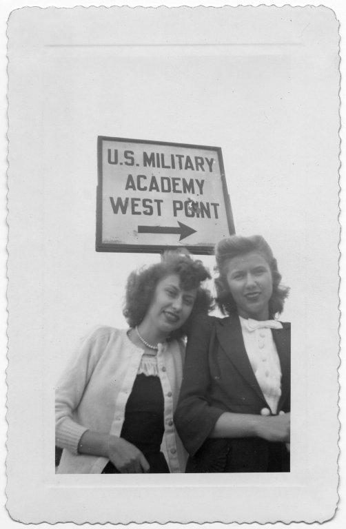Ann Sevcik O'Connel and Mary Sevcik