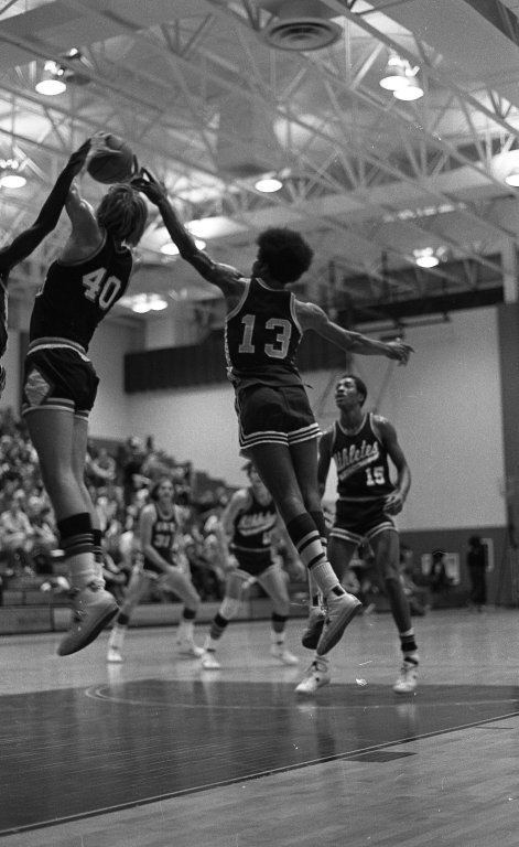 Basketball: GMU vs. Athletics in Action 3