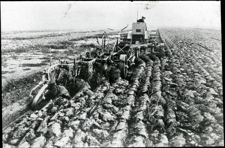 """""""Wieringermeer: 1st ploughing"""" - Netherlands"""