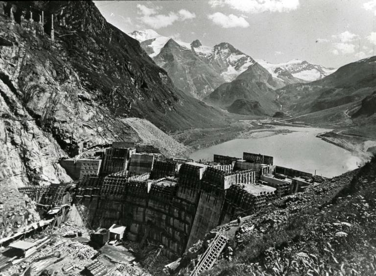 Hydroelectric dam, Kaprun, Salzburg, Austria