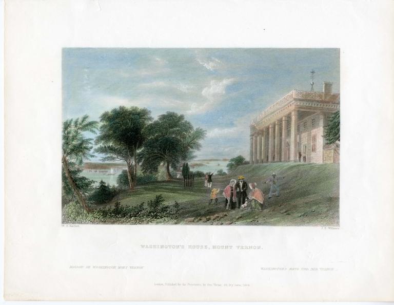 """""""Washington's House, Mount Vernon"""""""