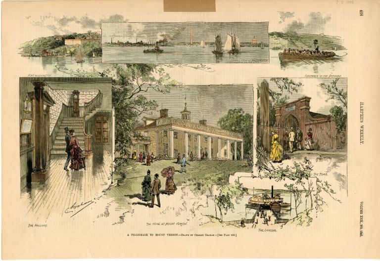 """A Pilgrimage to Mount Vernon"""