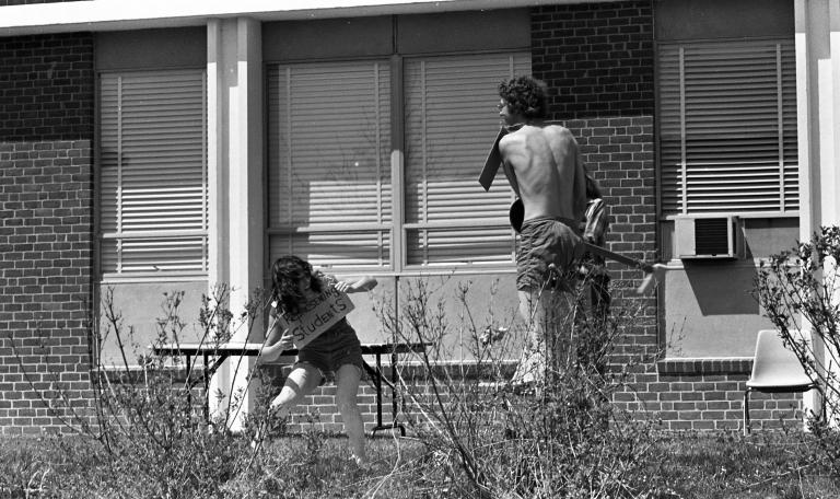 Outdoor campus scenes 13