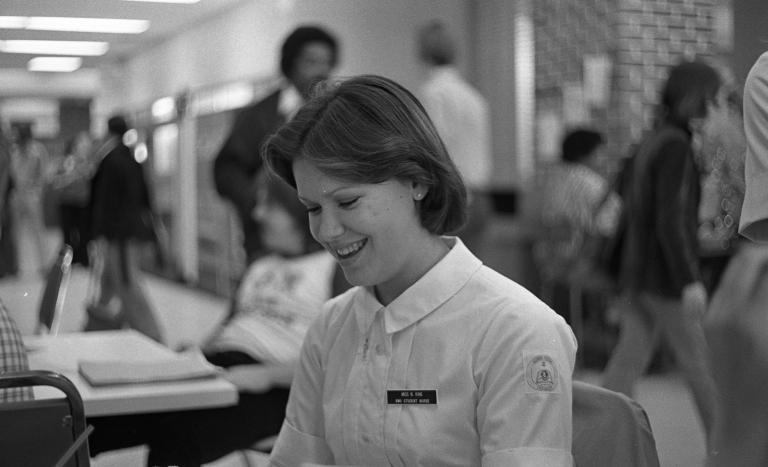 Miss N. King, student nurse 1