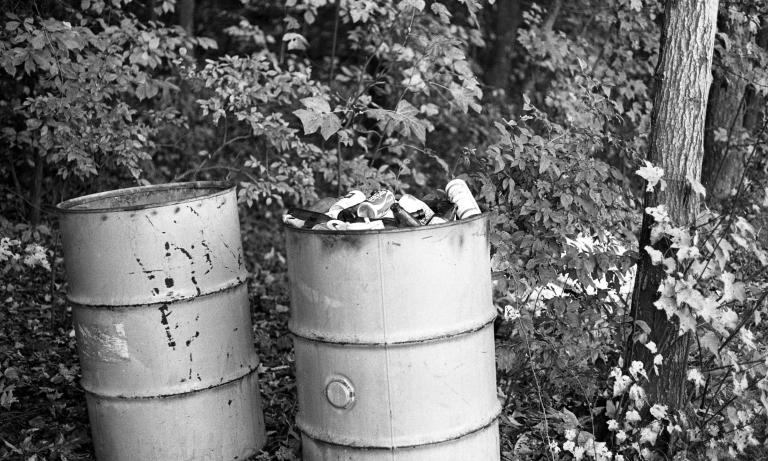 Metal barrels 1