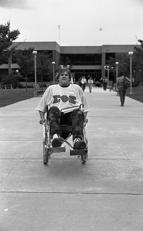Fraternity wheel chair race 12