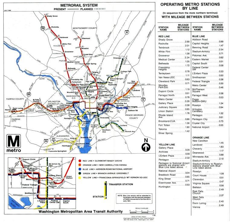 Metrorail System