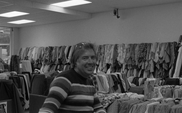Man in thrift store 3