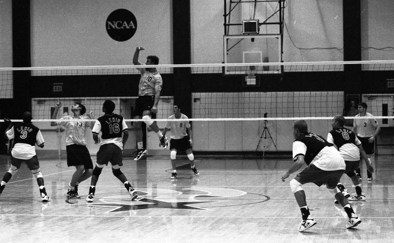 Men's volleyball George Mason University vs. Lewis 38