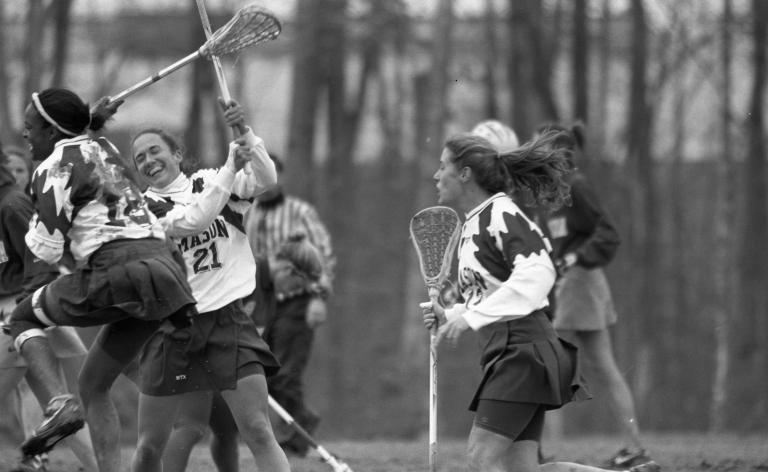 Women's lacrosse George Mason University vs. North Carolina 6