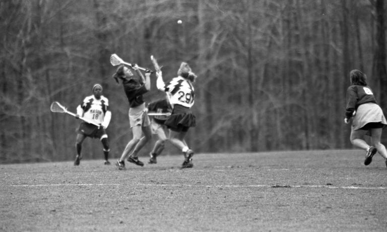 Women's lacrosse George Mason University vs. North Carolina 12