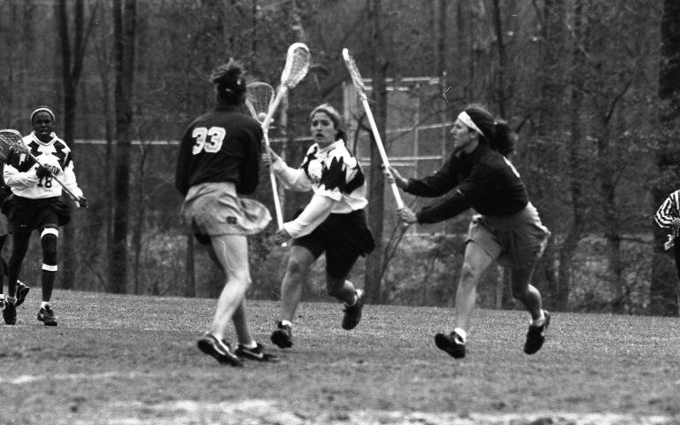 Women's lacrosse George Mason University vs. University of North Carolina 1