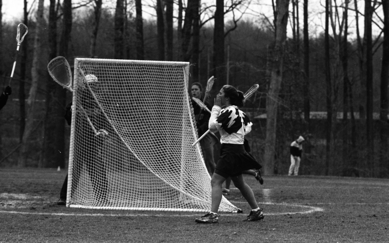 Women's lacrosse George Mason University vs. University of North Carolina 4