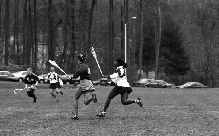 Women's lacrosse George Mason University vs. University of North Carolina 17