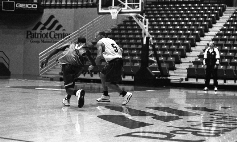 Men's basketball preseason practice 8