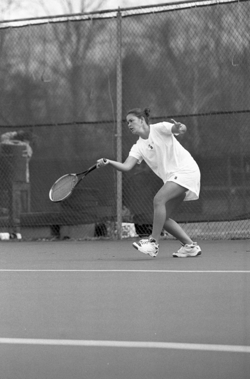 Women's tennis George Mason University vs. James Madison University 16