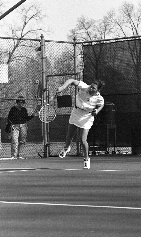 Women's tennis George Mason University vs. James Madison University 43